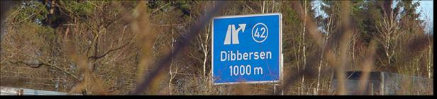 BAB Abfahrt Dibbersen; (c) Bernhard Schönhofen