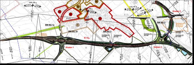B75neu Ortslage Dibbersen (LGLN)©Nds. Landesbehörde für Straßenbau und Verkehr / Nds. Vermssungs- und Katasterverwaltung