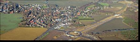 Dibbersen mit Baustelle B75neu©Bernhard Schönhofen
