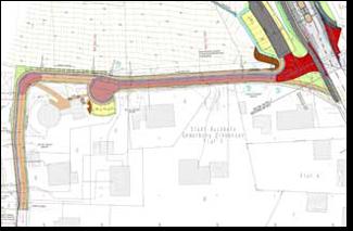 Dorferneuerung: Weg zur Mühle - Plan©Stadt Buchholz in der Nordheide